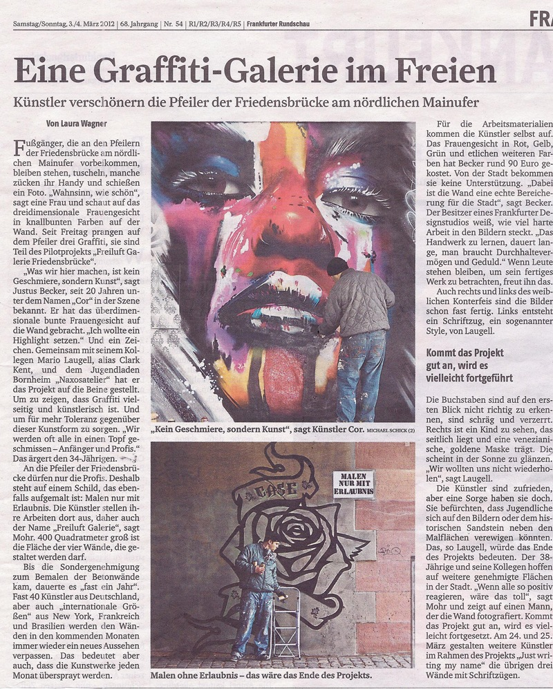 Frankfurter Rundschau March 2012