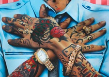 Hands of Adidja Palmer